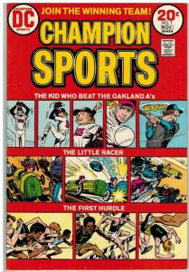 CHAMPION SPORTS (1973) 1 FN  Oakland A's  Nov. 1973