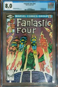 Fantastic Four 232 CGC 8.0 Marvel 1981 Byrne