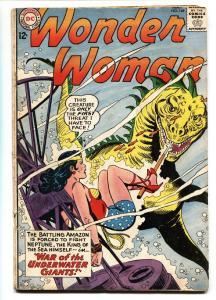 WONDER WOMAN #146 comic book 1964-DC-Silver-Age DINOSAUR vg