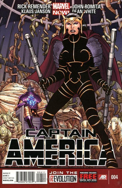 Captain America (7th Series) #4 VF/NM; Marvel | save on shipping - details insid