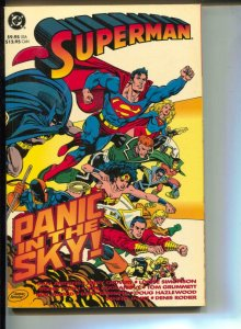 Superman: Panic In The Sky-Dan Jurgens-TPB-trade
