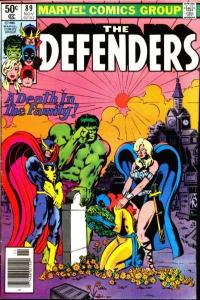 Defenders (1972 series) #89, NM- (Stock photo)