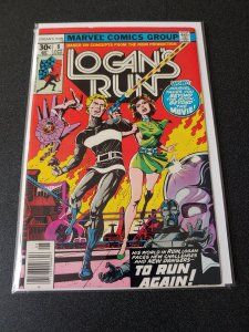Logans Run #6 (1977, Marvel) 1st Solo Thanos Story