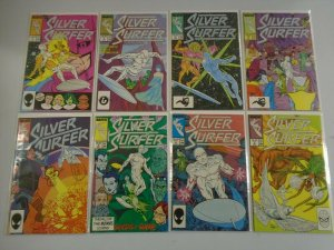 Silver Surfer Comic Lot (2nd Series) #1-49 (42 DIFF) - AVG 7.0 FN/VF  - 1987-91