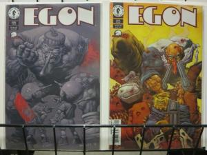 EGON (1998 DH) 1-2 Two issue Hurley mini, harsh