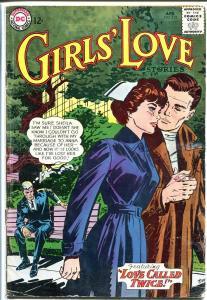 GIRLS' LOVE STORIES #102-DC ROMANCE COMIC-NURSE COVER VG-