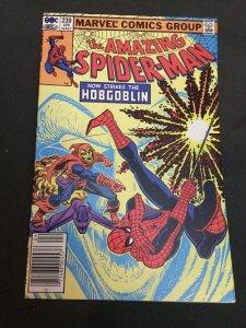Amazing Spider-Man 239 Vf+ Very Fine+ 8.5 2nd Hobgoblin Newsstand Marvel