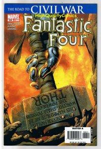 FANTASTIC FOUR #536 NM- Thor Civil War 1st  Hammer  God of Thunder