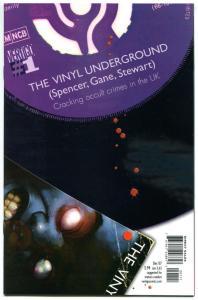 VINYL UNDERGROUND #1 2 3 4 5 6 7 8 9 10 11 12, NM, Occult Crimes, Vertigo, 2007