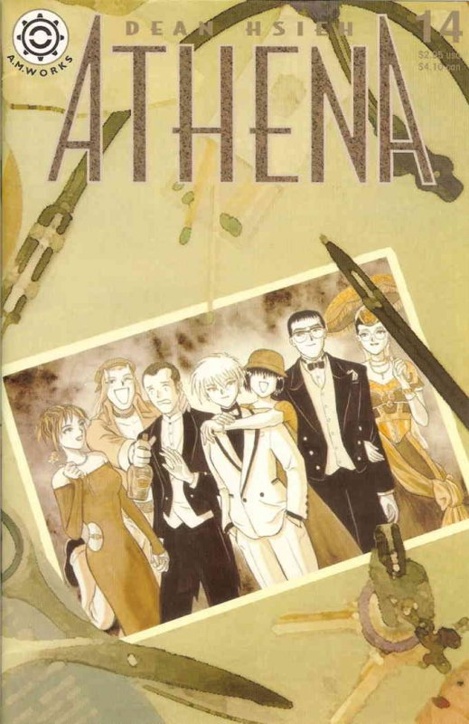 Athena #14 VF/NM; Antarctic   save on shipping - details inside