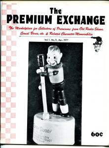 Premium Exchange #3 1977-Howdy Doody-Tom Mix-Space Patrol-Straight Arrow-FN