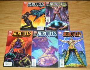 Hercules v3 #1-5 VF/NM complete series - marvel comics - tieri & mark texeira