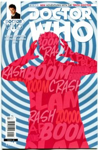 DOCTOR WHO #10 A, NM, 10th, Tardis, 2014, Titan, 1st, more DW in store, Sci-fi