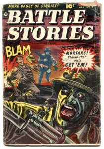 Battle Stories #9 1953- Golden Age comic- Bill Battle G