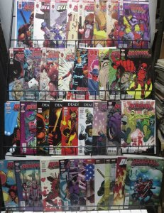 DEADPOOL MEGA-COLLECTION! 38 ISSUES!Third series,fourth series,Despicable,VFNM