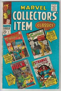 Marvel Collectors' Item #6 (Dec-66) FN Mid-Grade Fantastic Four, Mr. Fantasti...