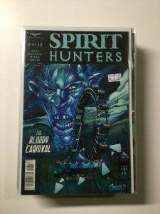 Spirit Hunters 2 Variant Near Mint Zenescope HPA