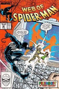 Web of Spider-Man (1985 series) #36, Fine+ (Stock photo)