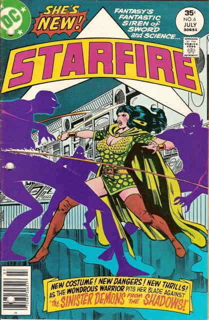 Starfire #6 FN; DC | save on shipping - details inside