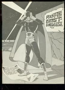 ROCKET'S BLAST AND COMICOLLECTOR FANZINE #85-GB LOVE-   FN