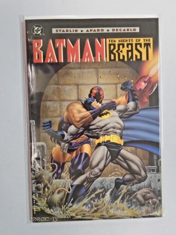 Batman Ten Nights of the Beast #1 - see pics - 6.0 - 1994