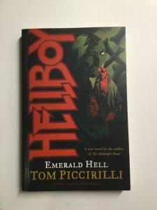 Hellboy Emerald Hell Novel Softcover Sc Near Mint Nm Dark Horse