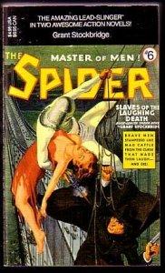 SPIDER-PULP-PAPERBACK #6-C&G VF