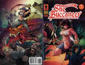 Voyages of the SheBuccaneer, The #5 VF/NM; Great Big   save on shipping - detail