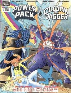 POWER PACK & CLOAK & DAGGER: SHELTER FROM THE STORM GN (198 #1 Near Mint