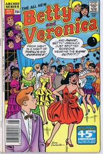 Archie All New Betty and Veronica #3 ORIGINAL Vintage 1987 GGA