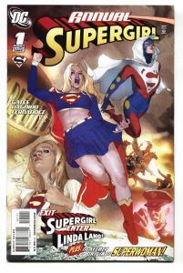 SUPERGIRL ANNUAL #1 LANA LANG-ORIGIN OF SUPERWOMAN-2009