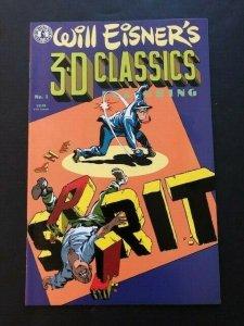 Kitchen Sink Comix Will Eisner's 3-D Classics #1 The SPIRIT VF/NM (PF972)
