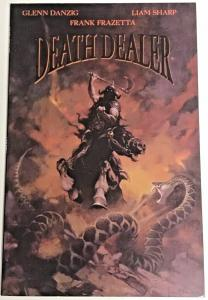 DEATH DEALER#2 VF/NM 1996 FRAZETTA COVER VEROTIK COMICS