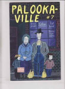 Palooka-ville #7 FN- drawn & quarterly - seth - palookaville - april 1995 rare
