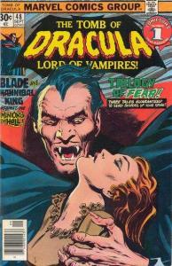 Tomb of Dracula (1972 series) #48, VF- (Stock photo)