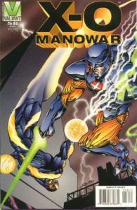 X-O Manowar (1992 series) #58, NM (Stock photo)