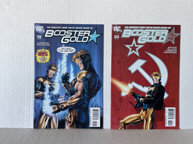 Booster Gold #19 and 20 (2009) Unlimited Combined Shipping