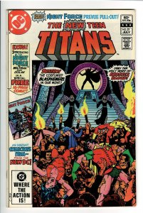 NEW TEEN TITANS 21 NM 9.2(Go Collect) 1st APP.BROTHER BLOOD,MOTHER MAYHEM!!
