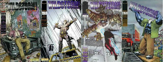 WILDSTORM (1995 IM) 1-4   COMPLETE!