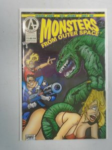 Monsters from Outer Space #1 8.01 VF (1992 Adventure Comics)