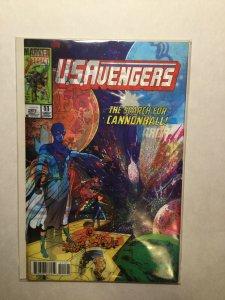 U.S. Avengers 11 Near Mint Nm Ward Lenticular Variant Marvel