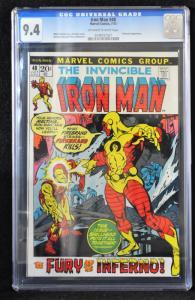 Iron Man #48 (Marvel, 1972) CGC 9.4