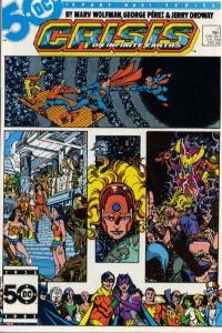 Crisis on Infinite Earths #11, NM- (Stock photo)