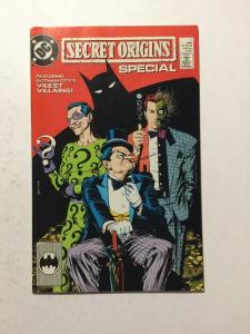 Secret Orgins Special 1 NM Near Mint