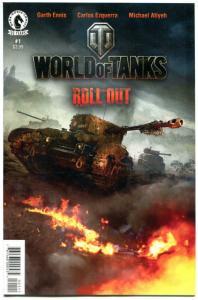 WORLD of TANKS #1 2 3 4 5, NM, Garth Ennis, WWII, more War in store, 1-5 set