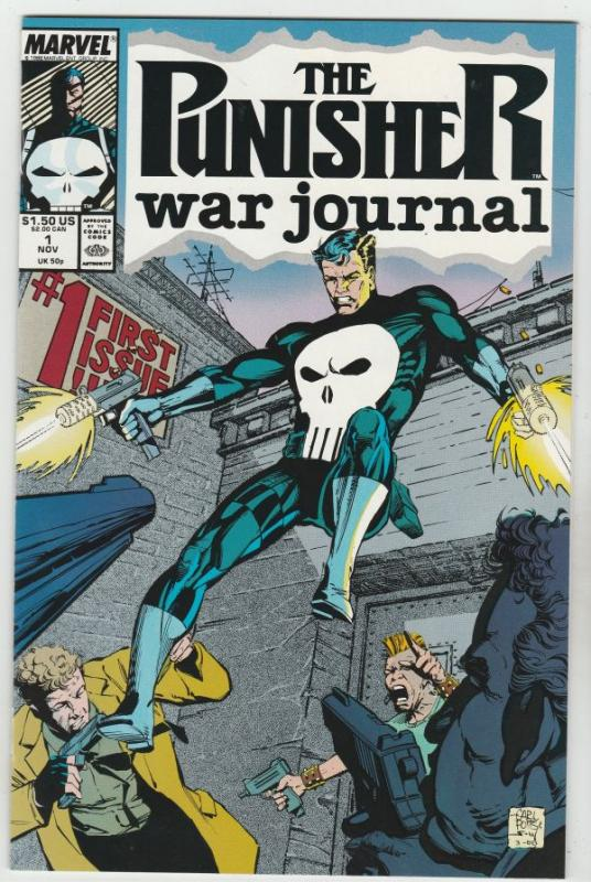 Punisher, the War Journel #1 (Jan-07) NM Super-High-Grade The Punisher