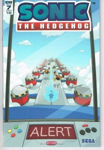 Sonic the Hedgehog  #7 cvr A (IDW)