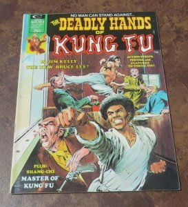 The Deadly Hands of Kung Fu #3 VF High Grade Bruce Lee Shang Chi Neal Adams Art