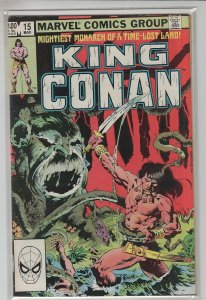 KING CONAN (1980 MARVEL) #15 VF+ A20392