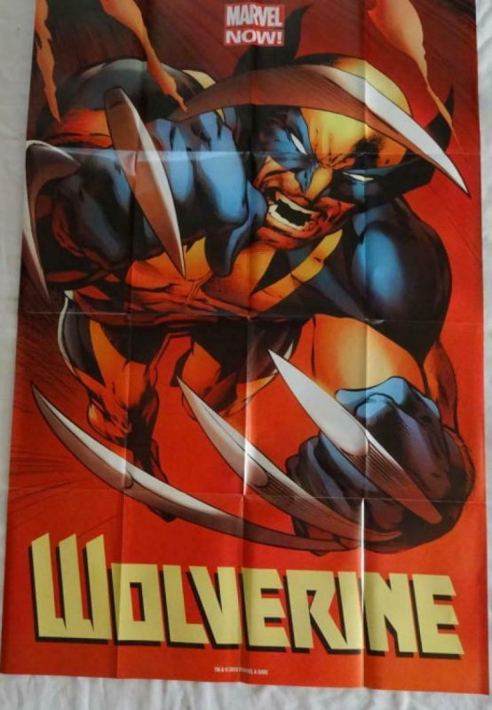 WOLVERINE Promo Poster, 24 x 36, 2013, MARVEL, Unused more in our store 314